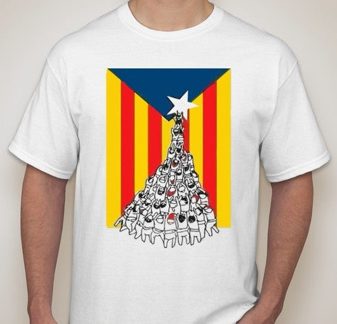 Catalan Independence T-shirt Catalonia | Blasted Rat