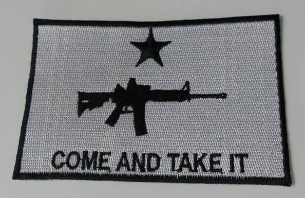 Come And Take It Gun Rights AR15 Patch | Molon Labe | Blasted Rat