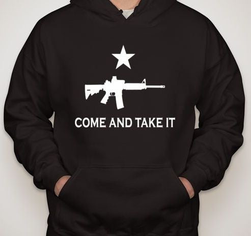 Come And Take It AR15 Hoodie | Blasted Rat