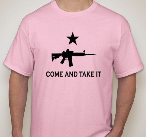 Come And Take It AR15 T-shirt | Blasted Rat