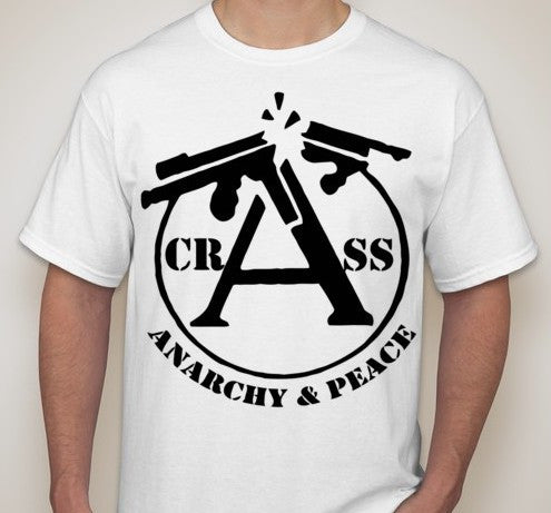 Crass Anarchy & Peace T-shirt | Blasted Rat
