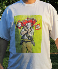 Anonymous Bandito T-shirt | Dan Bellini Occupy Art | Blasted Rat