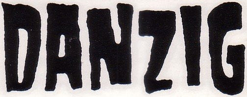 Danzig Logo | Die Cut Vinyl Sticker Decal | Blasted Rat