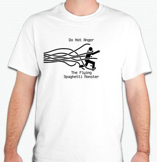 Do Not Anger The Flying Spaghetti Monster T-shirt | Blasted Rat