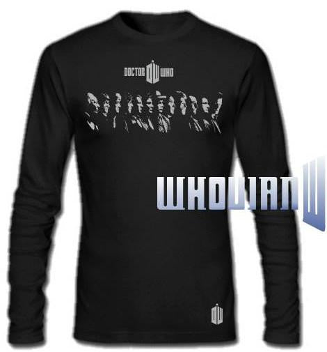 Doctor Who 12 Doctors Long Sleeve T-shirt
