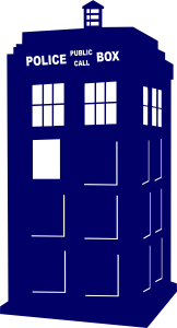 Doctor Who Tardis Police Public Call Box | Die Cut Vinyl Sticker Decal | Blasted Rat