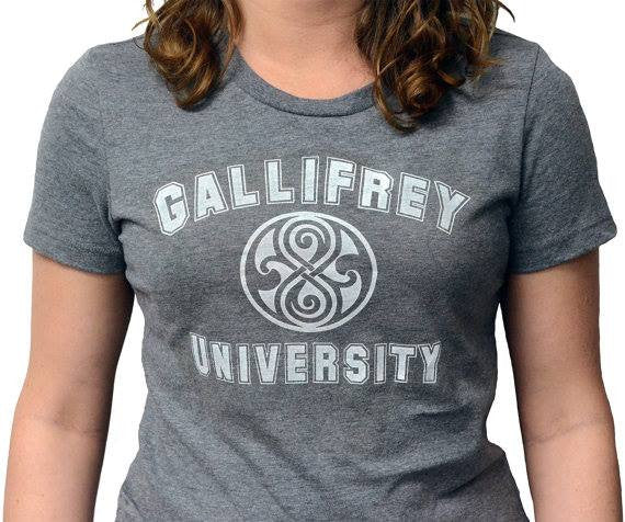 Doctor Who Gallifrey University Symbol T-shirt | Blasted Rat