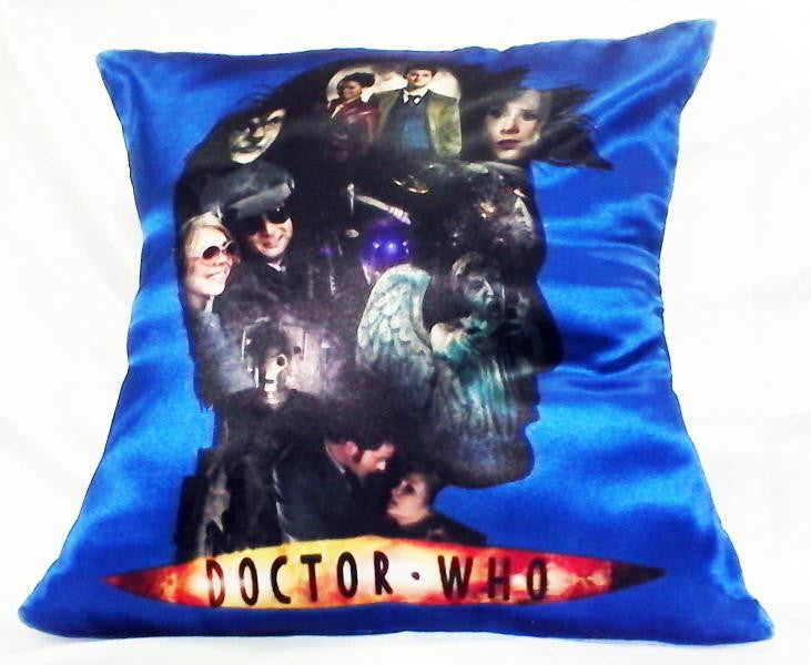 Dr Who Characters Pillow | Blasted Rat