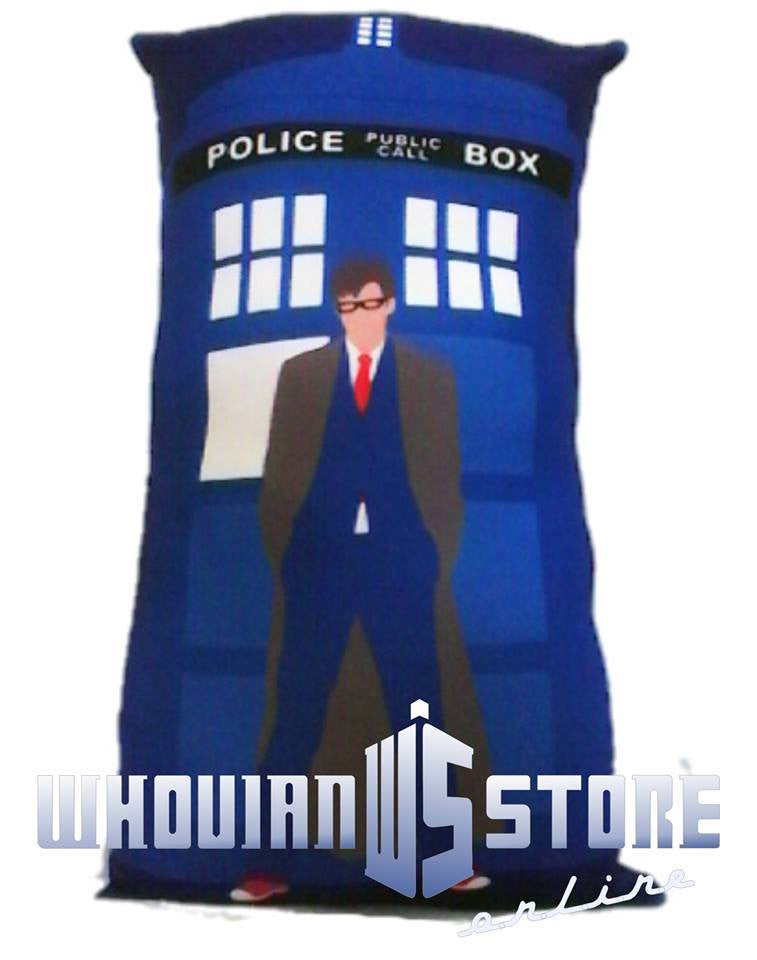 Dr Who Pillow Police Box style2 | Blasted Rat