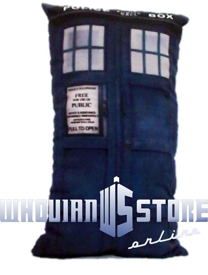 Dr Who Pillow Police Box style3 | Blasted Rat