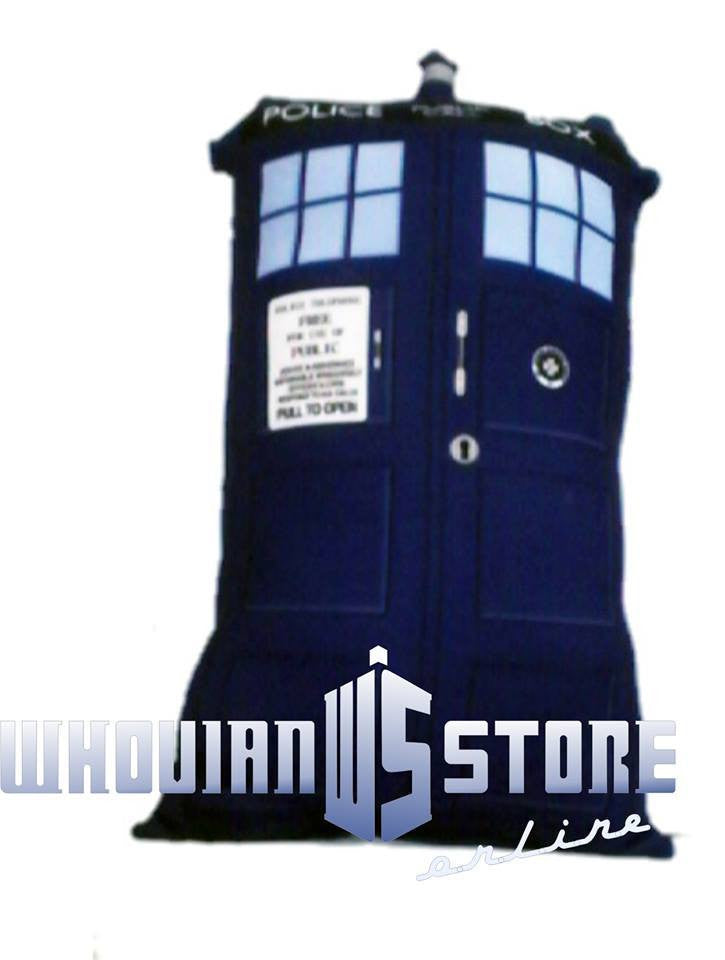 Dr Who Pillow Police Box | Blasted Rat