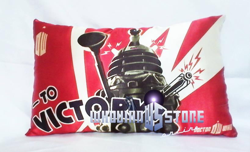 Dr Who Pillow Robot | Blasted Rat