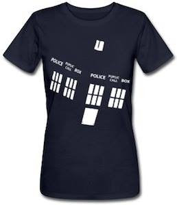 Doctor Who Police Booths T-shirt | Blasted Rat