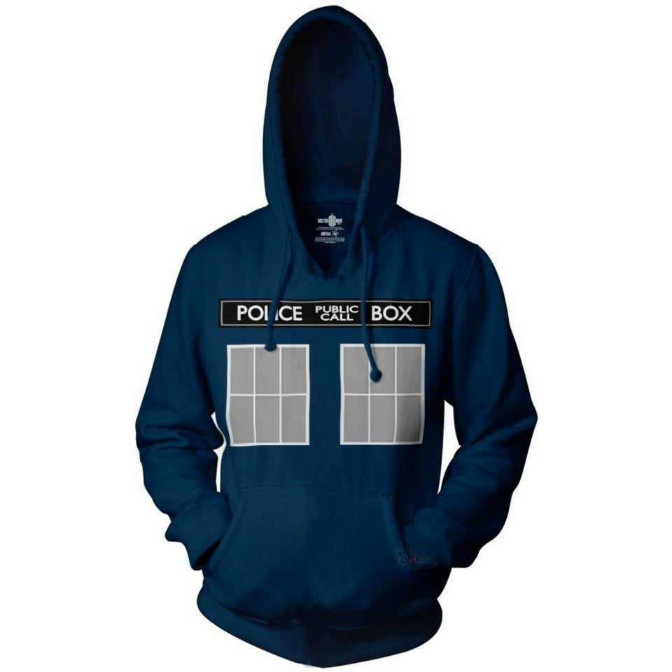 Doctor Who Police Box Hoodie