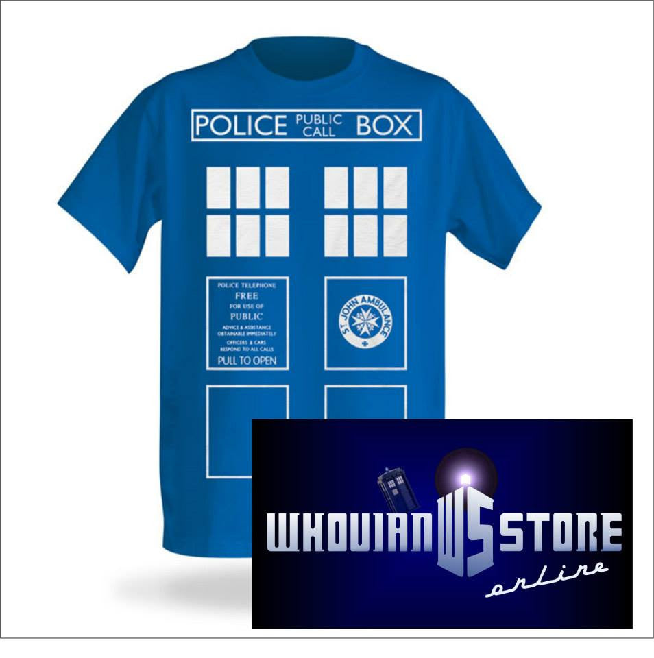 Doctor Who Police Box T-shirt | Blasted Rat