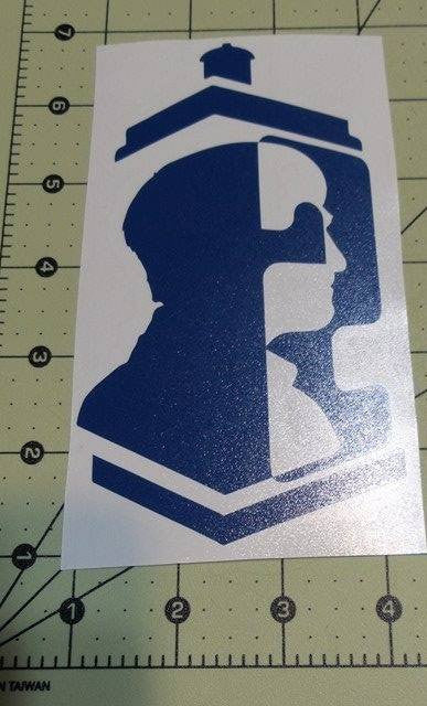 Dr Who 2nd Doctor | Die Cut Vinyl Sticker Decal