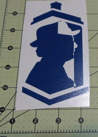 Dr Who 7th Doctor | Die Cut Vinyl Sticker Decal