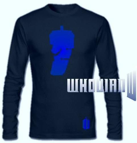 Doctor Who Tardis Dalek Long Sleeve T-shirt