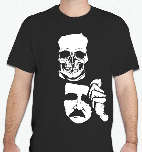 Edgar Allan Poe T-shirt  | Blasted Rat