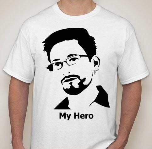 Edward Snowden My Hero T-shirt