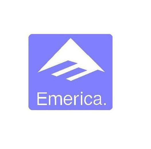 Emerica Skateboarding Logo | Die Cut Vinyl Sticker Decal | Blasted Rat