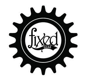 Fixed Gear Cog Logo | Die Cut Vinyl Sticker Decal Sticker | Blasted Rat