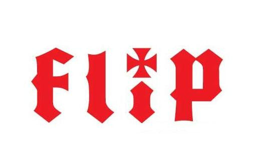 Flip Skateboards Logo | Die Cut Vinyl Sticker Decal | Blasted Rat