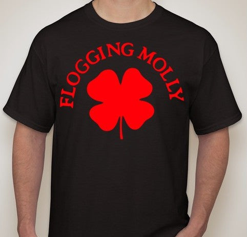 Flogging Molly Clover T-shirt | Blasted Rat