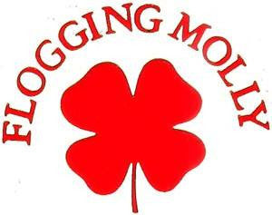 Flogging Molly Clover | Die Cut Vinyl Sticker Decal | Blasted Rat