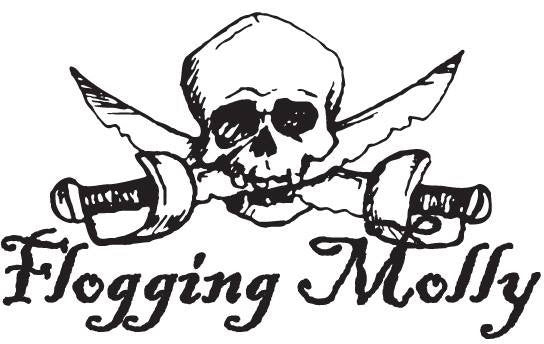 Flogging Molly Pirate | Die Cut Vinyl Sticker Decal | Blasted Rat