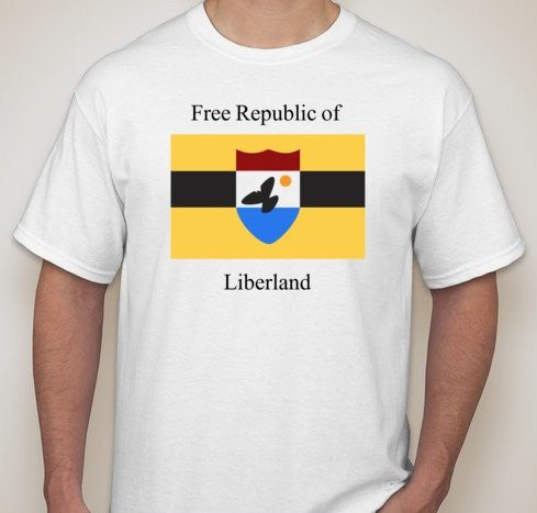 Free Republic Of Liberland T-shirt | Blasted Rat