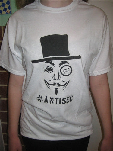 #AntiSec Anonymous T-shirt | Blasted Rat