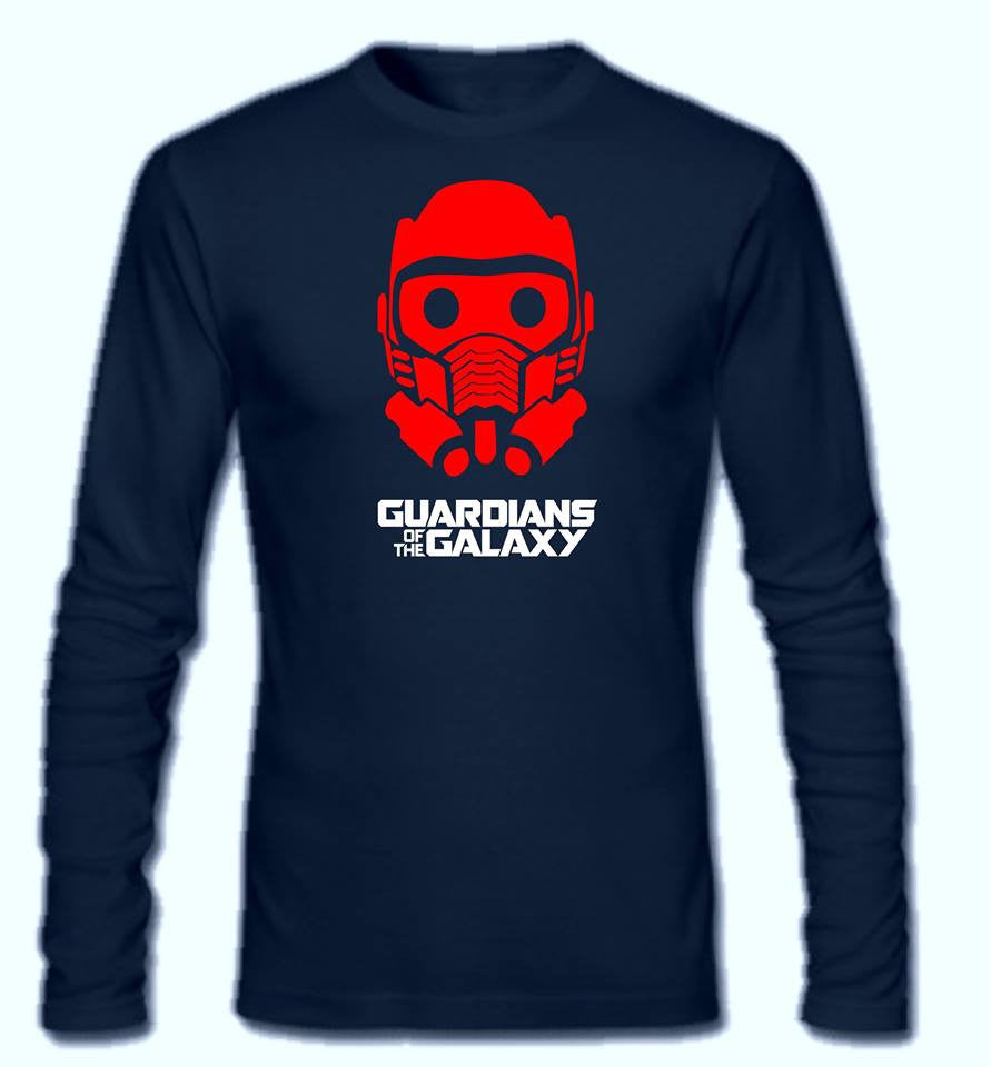 Guardians Of The Galaxy Star Lord Long Sleeve T-shirt
