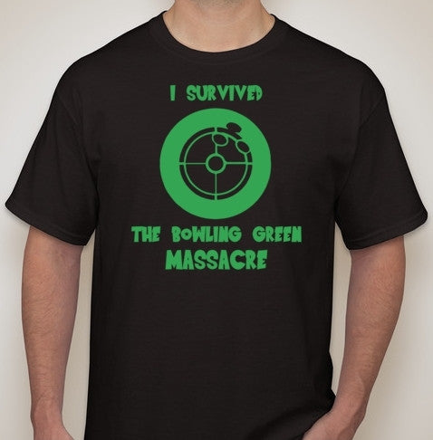 Bowling Green Massacre Survivor Trump Joke T-shirt