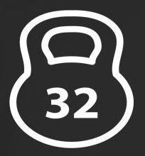 32 Kg Kettlebell Crossfit MMA |  Die Cut Vinyl Sticker Decal
