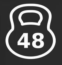 48 Kg Kettlebell Crossfit MMA |  Die Cut Vinyl Sticker Decal