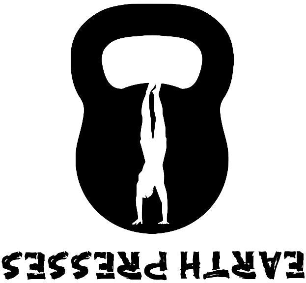 Kettlebell Hand Stand Push Up Gym Wall Crossfit MMA Earth Presses | Die Cut Vinyl Sticker Decal