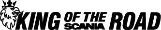 King of the road, Scania - Die Cut Vinyl Sticker Decal