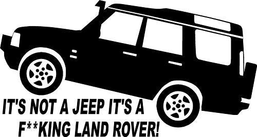 Land Rover - Die Cut Vinyl Sticker Decal
