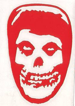 Misfits Reaper Head | Die Cut Vinyl Sticker Decal | Blasted Rat