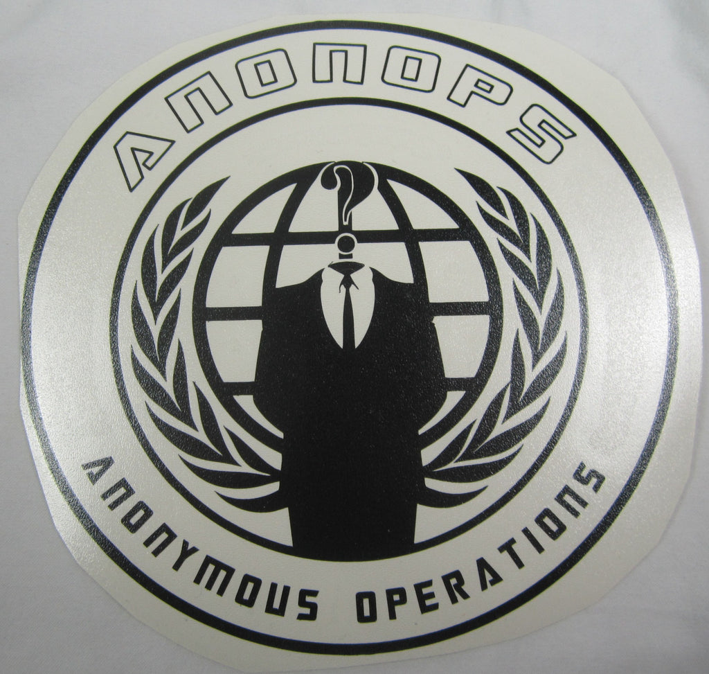 AnonOps Anonymous Operations | Die Cut Vinyl Sticker Decal | Blasted Rat