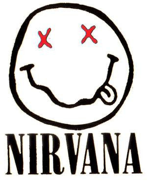 Nirvana Smiley | Die Cut Vinyl Sticker Decal | Blasted Rat