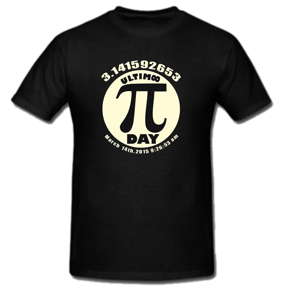 Pi Day π March 14 2015 T-shirt | Blasted Rat