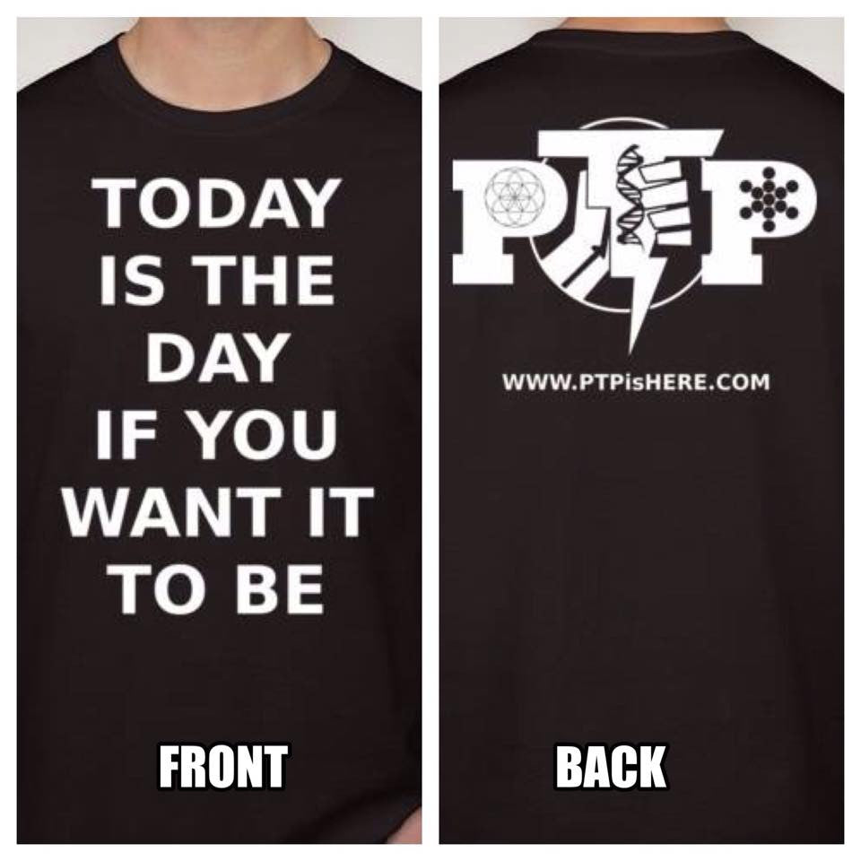 PTP Hip Hop Artist Today Is The Day T-shirt