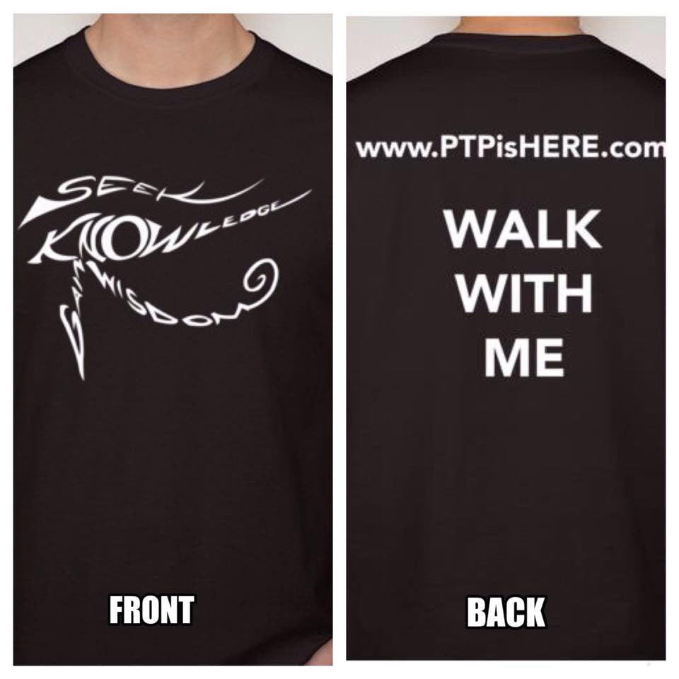 PTP Hip Hop Artist Walk With Me T-shirt