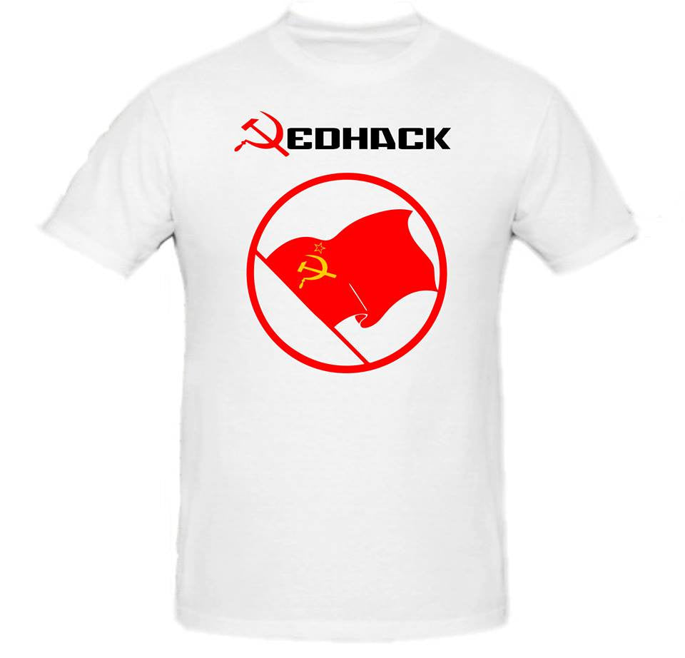 Anonymous RedHack Turkey T-Shirt with Yellow Emblem | Blasted Rat