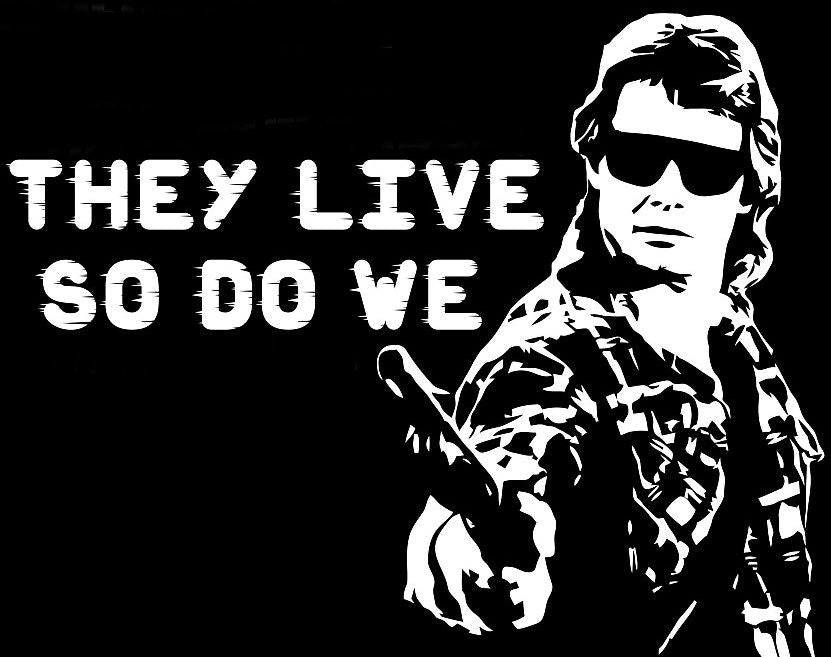 Roddy piper rowdy they live so do we movie die cut vinyl sticker wall decal blasted rat