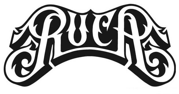 RVCA Logo | Die Cut Vinyl Sticker Decal | Blasted Rat