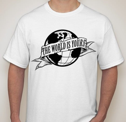 Scarface The world Is Yours Logo T-shirt | Blasted Rat