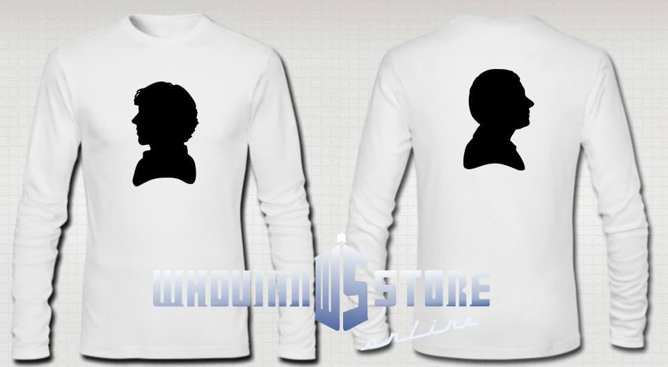 Sherlock And Watson Long Sleeve T-shirt Variation
